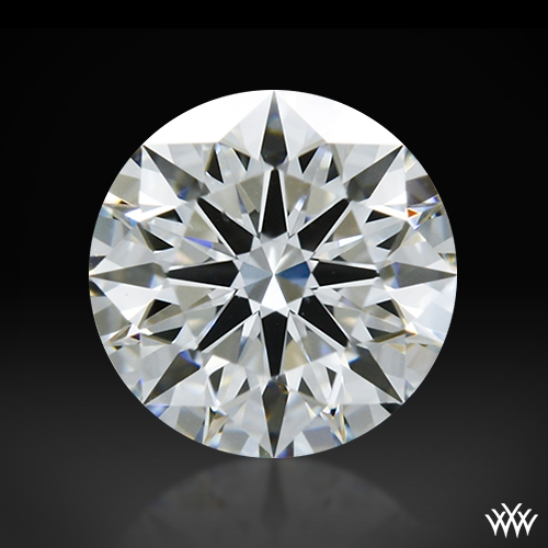 0.515 ct F VS2 A CUT ABOVE® Hearts and Arrows Super Ideal Round Cut Loose Diamond