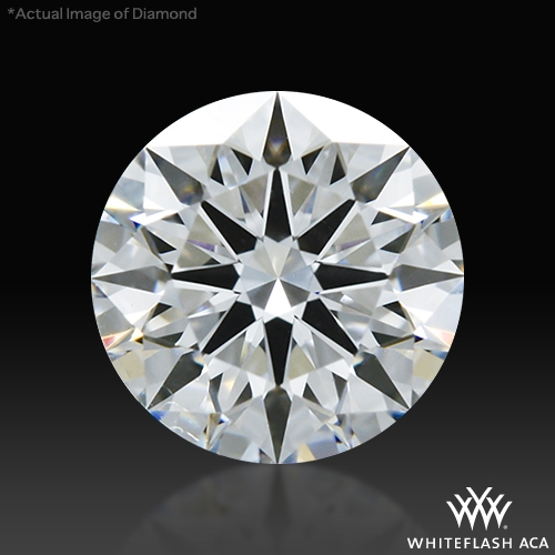 0.623 ct D VS1 A CUT ABOVE® Hearts and Arrows Super Ideal Round Cut Loose Diamond