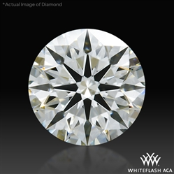 0.422 ct I VS2 A CUT ABOVE® Hearts and Arrows Super Ideal Round Cut Loose Diamond