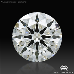 0.397 ct H VS2 A CUT ABOVE® Hearts and Arrows Super Ideal Round Cut Loose Diamond