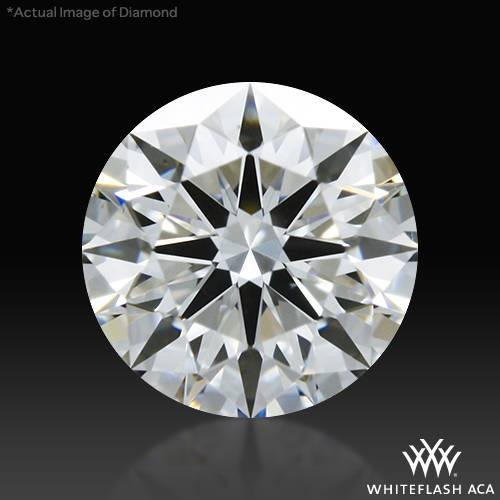 0.415 ct E VS2 A CUT ABOVE® Hearts and Arrows Super Ideal Round Cut Loose Diamond