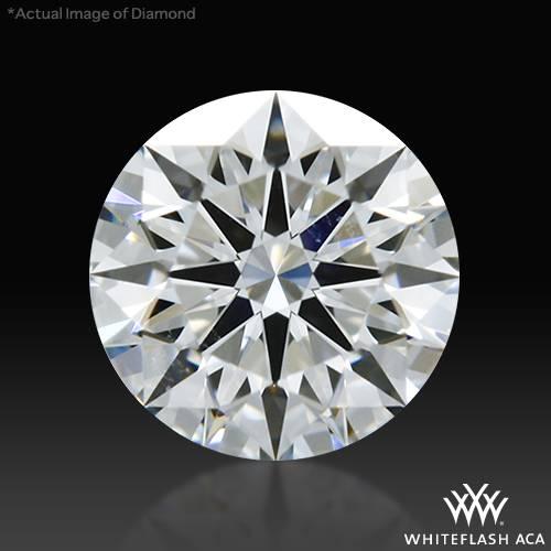 0.437 ct E VS2 A CUT ABOVE® Hearts and Arrows Super Ideal Round Cut Loose Diamond