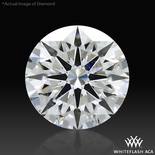 0.437 ct E VS2 A CUT ABOVE® Hearts and Arrows Super Ideal Round Cut Loose Diamond
