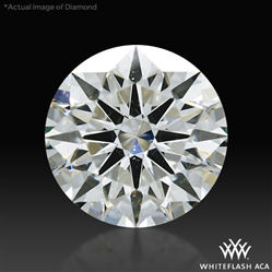 1.155 ct I SI1 A CUT ABOVE® Hearts and Arrows Super Ideal Round Cut Loose Diamond