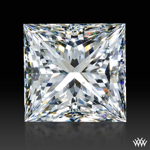 2.69 ct I SI1 A CUT ABOVE® Princess Super Ideal Cut Diamond