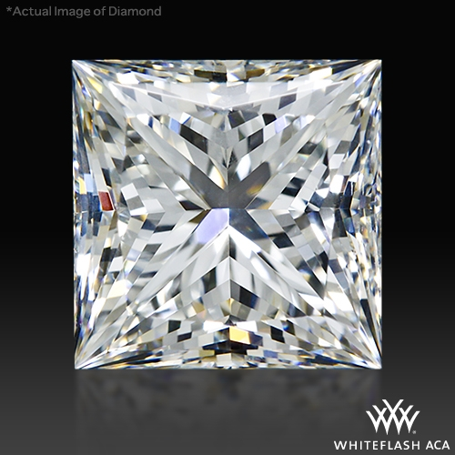 1.996 ct G SI1 A CUT ABOVE® Princess Super Ideal Cut Diamond