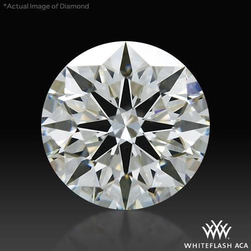 0.806 ct I VS1 A CUT ABOVE® Hearts and Arrows Super Ideal Round Cut Loose Diamond