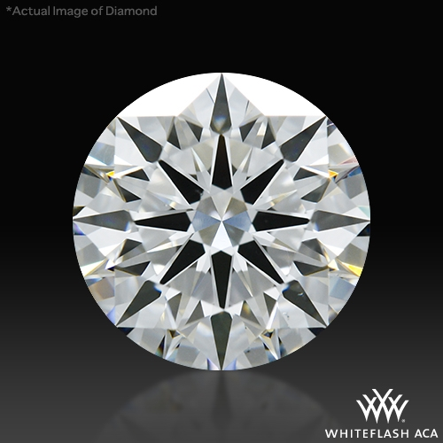 1.313 ct H VS2 A CUT ABOVE® Hearts and Arrows Super Ideal Round Cut Loose Diamond