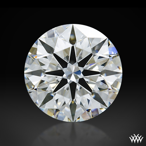1.072 ct H VVS1 A CUT ABOVE® Hearts and Arrows Super Ideal Round Cut Loose Diamond