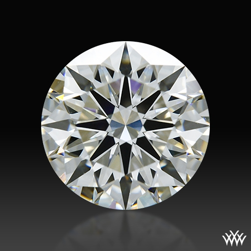1.232 ct J VS1 A CUT ABOVE® Hearts and Arrows Super Ideal Round Cut Loose Diamond