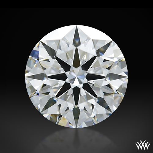 1.122 ct F VVS2 A CUT ABOVE® Hearts and Arrows Super Ideal Round Cut Loose Diamond