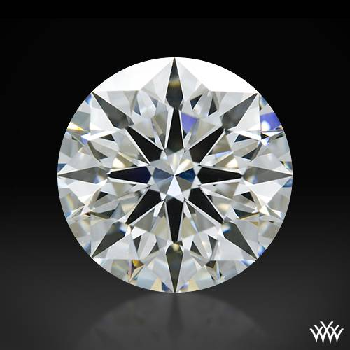 1.234 ct G VS1 A CUT ABOVE® Hearts and Arrows Super Ideal Round Cut Loose Diamond