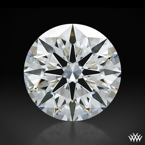 1.218 ct G VS1 A CUT ABOVE® Hearts and Arrows Super Ideal Round Cut Loose Diamond
