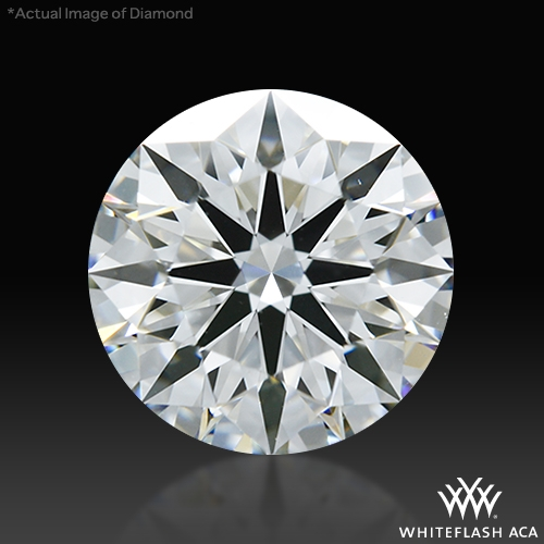 1.261 ct G VS2 A CUT ABOVE® Hearts and Arrows Super Ideal Round Cut Loose Diamond