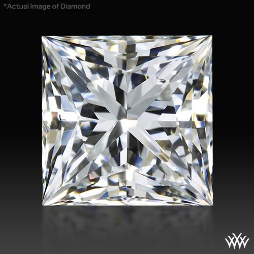 0.946 ct H VS1 A CUT ABOVE® Princess Super Ideal Cut Diamond