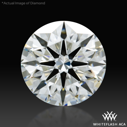 0.925 ct H VS1 A CUT ABOVE® Hearts and Arrows Super Ideal Round Cut Loose Diamond