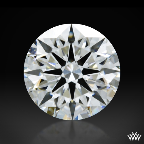 1.004 ct E VS2 A CUT ABOVE® Hearts and Arrows Super Ideal Round Cut Loose Diamond