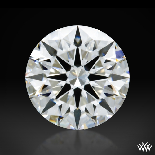 1.006 ct F VS2 A CUT ABOVE® Hearts and Arrows Super Ideal Round Cut Loose Diamond