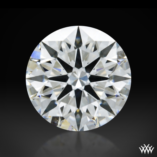 1.084 ct F SI1 A CUT ABOVE® Hearts and Arrows Super Ideal Round Cut Loose Diamond