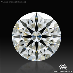 1.023 ct H SI1 A CUT ABOVE® Hearts and Arrows Super Ideal Round Cut Loose Diamond