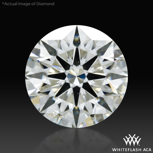 1.054 ct I SI1 A CUT ABOVE® Hearts and Arrows Super Ideal Round Cut Loose Diamond