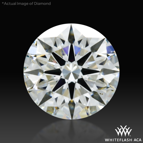 1.03 ct I SI1 A CUT ABOVE® Hearts and Arrows Super Ideal Round Cut Loose Diamond
