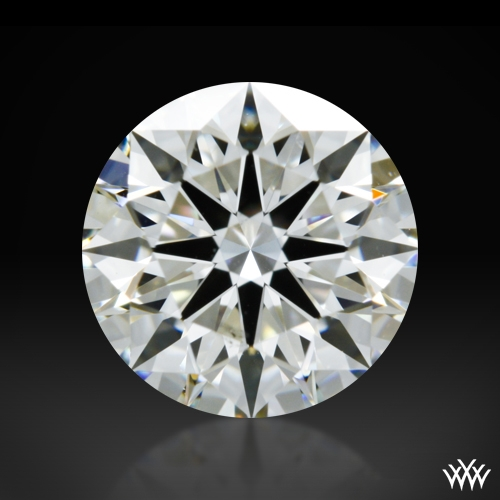 1.097 ct I VS2 A CUT ABOVE® Hearts and Arrows Super Ideal Round Cut Loose Diamond