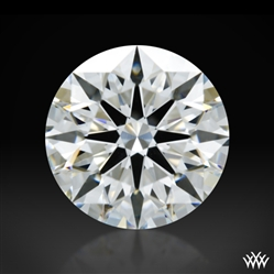 1.348 ct H VS1 A CUT ABOVE® Hearts and Arrows Super Ideal Round Cut Loose Diamond