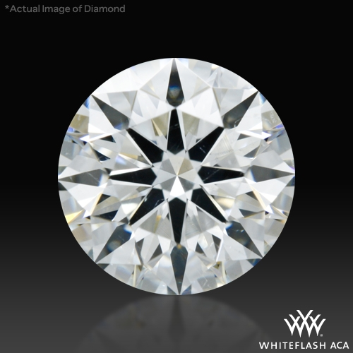 1.324 ct H SI1 A CUT ABOVE® Hearts and Arrows Super Ideal Round Cut Loose Diamond