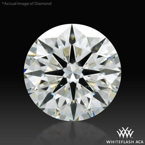 1.308 ct I SI1 A CUT ABOVE® Hearts and Arrows Super Ideal Round Cut Loose Diamond