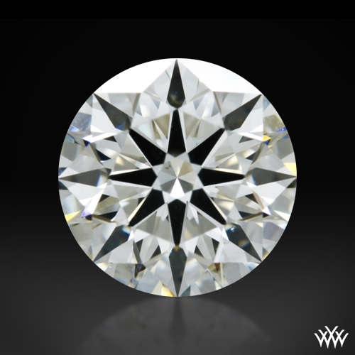 1.308 ct J VS2 A CUT ABOVE® Hearts and Arrows Super Ideal Round Cut Loose Diamond