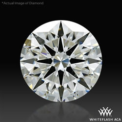 2.51 ct I SI1 A CUT ABOVE® Hearts and Arrows Super Ideal Round Cut Loose Diamond