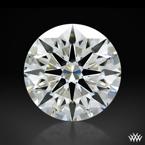 2.213 ct H VS2 A CUT ABOVE® Hearts and Arrows Super Ideal Round Cut Loose Diamond