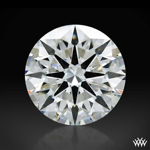 2.012 ct H SI1 A CUT ABOVE® Hearts and Arrows Super Ideal Round Cut Loose Diamond