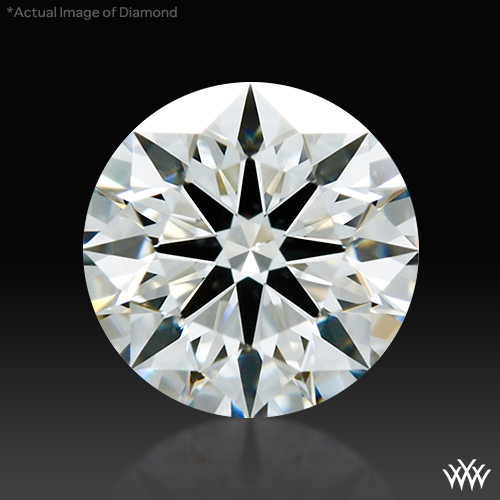 0.597 ct H VS2 A CUT ABOVE® Hearts and Arrows Super Ideal Round Cut Loose Diamond