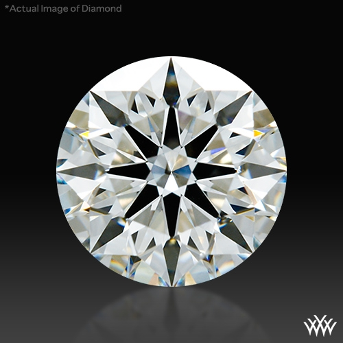 0.842 ct G SI1 A CUT ABOVE® Hearts and Arrows Super Ideal Round Cut Loose Diamond