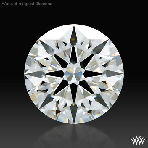 0.728 ct H VS1 A CUT ABOVE® Hearts and Arrows Super Ideal Round Cut Loose Diamond