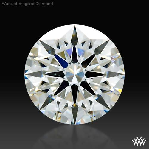 0.783 ct H SI1 A CUT ABOVE® Hearts and Arrows Super Ideal Round Cut Loose Diamond