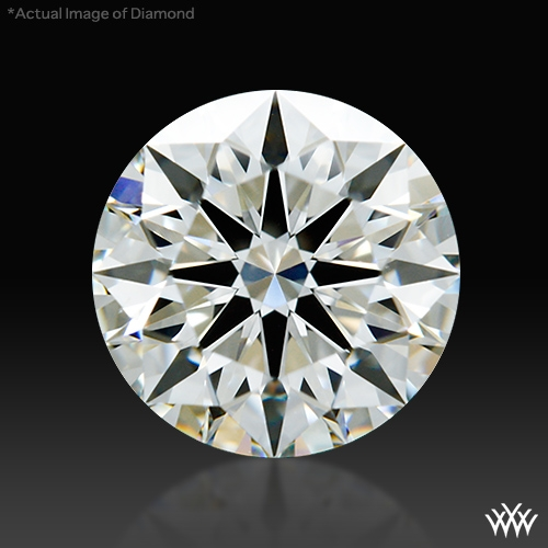 0.818 ct I VS1 A CUT ABOVE® Hearts and Arrows Super Ideal Round Cut Loose Diamond