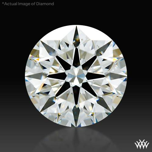 0.817 ct I SI1 A CUT ABOVE® Hearts and Arrows Super Ideal Round Cut Loose Diamond