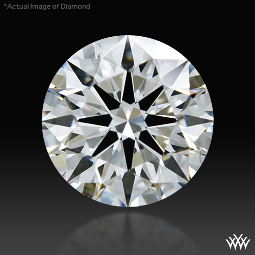 1.053 ct D SI1 A CUT ABOVE® Hearts and Arrows Super Ideal Round Cut Loose Diamond