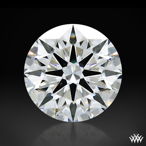 1.121 ct E SI1 A CUT ABOVE® Hearts and Arrows Super Ideal Round Cut Loose Diamond