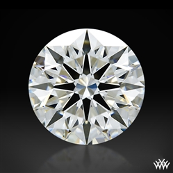 1.088 ct G VS2 A CUT ABOVE® Hearts and Arrows Super Ideal Round Cut Loose Diamond