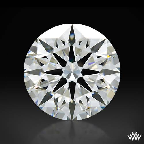 1.02 ct H VS1 A CUT ABOVE® Hearts and Arrows Super Ideal Round Cut Loose Diamond