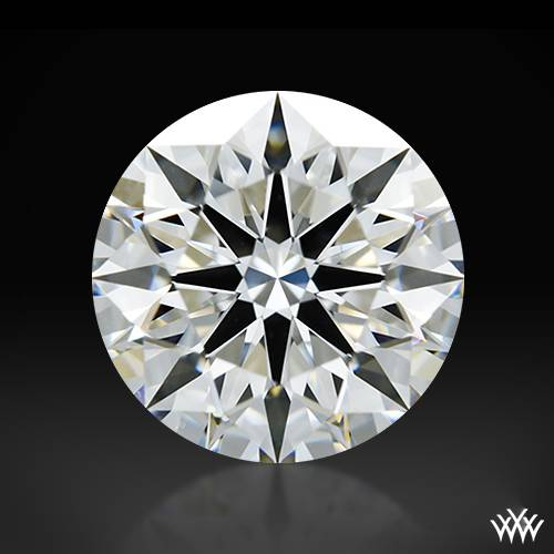 1.07 ct G VS1 A CUT ABOVE® Hearts and Arrows Super Ideal Round Cut Loose Diamond