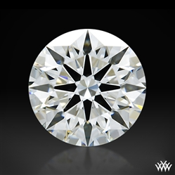 1.106 ct H VS1 A CUT ABOVE® Hearts and Arrows Super Ideal Round Cut Loose Diamond