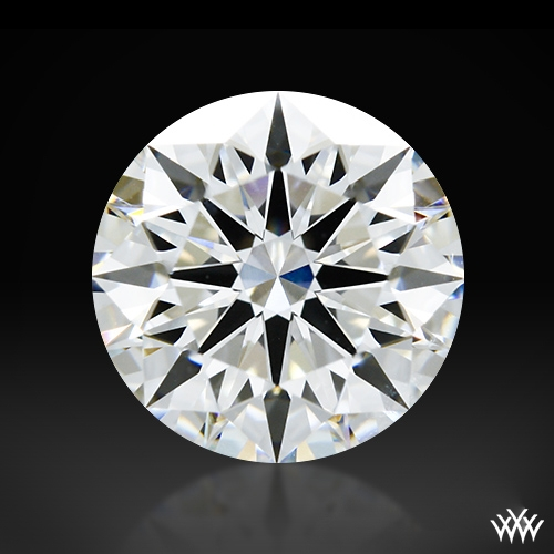 1.33 ct F VVS2 A CUT ABOVE® Hearts and Arrows Super Ideal Round Cut Loose Diamond