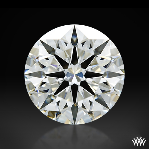 1.218 ct H VS1 A CUT ABOVE® Hearts and Arrows Super Ideal Round Cut Loose Diamond