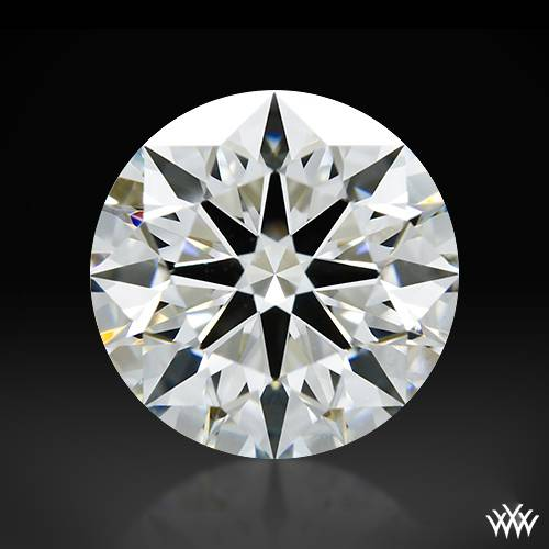 1.274 ct H VS1 A CUT ABOVE® Hearts and Arrows Super Ideal Round Cut Loose Diamond