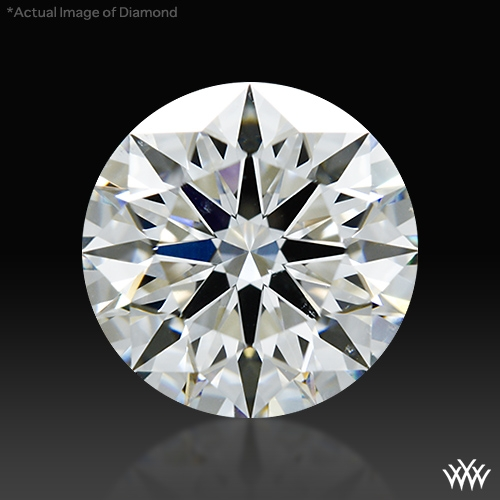 1.311 ct H VS2 A CUT ABOVE® Hearts and Arrows Super Ideal Round Cut Loose Diamond